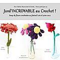 Mauricette, la fleur dodue au crochet, et ses copines ginette et odette