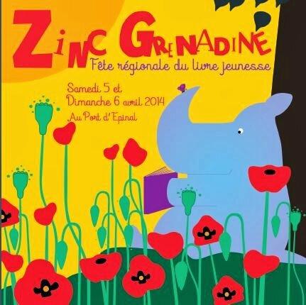 Affiche du Zinc Grenadine 2014 (Janik Coat)