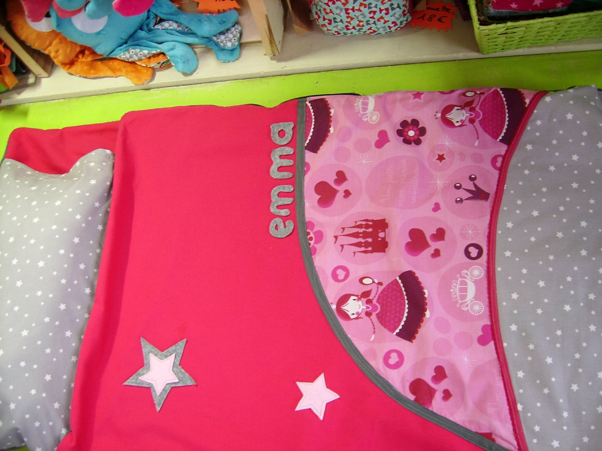 sac de couchage princesse