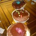 Muffins-moelleux coeur de coco