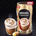 Test nescafe cappuccino