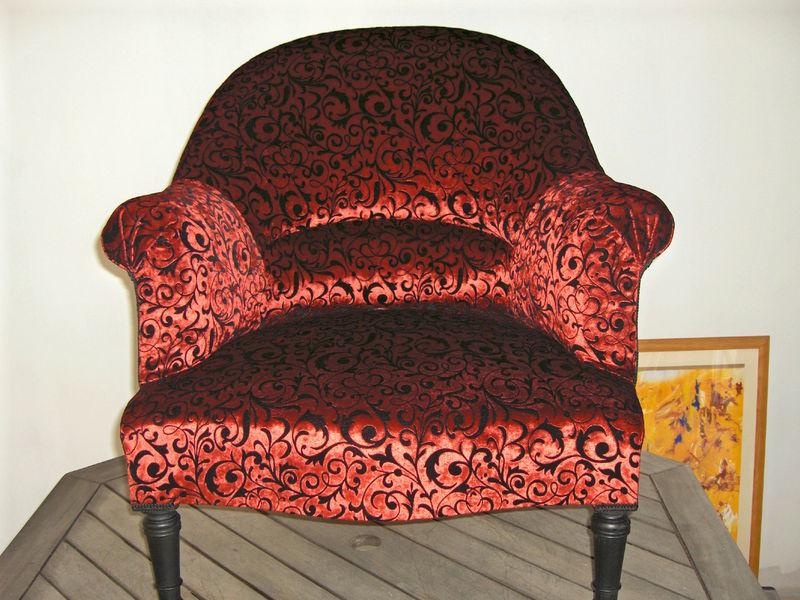 Crapaud tissu Home Collection