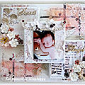 Canvas so sweet little angel dt