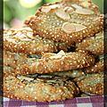 P'tits biscuits quinoa-amandes