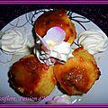 Pommes fondantes à la pâte spéculos et confiture de lait