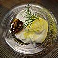 La Claque - burrata au safran mini tomate confite