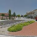 Rond-point à La <b>Granada</b> (Espagne)