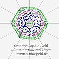 Hexagones swirl