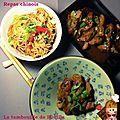 Repas chinois, façon bouille
