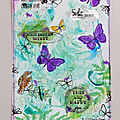 Une page d'Art Journal par Sophfinette