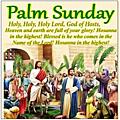 Évangile et Homélie du <b>Dimanche</b> des rameaux 05 Avril 2020. Passion de notre Seigneur Jésus-Christ