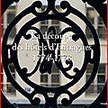 Historique et Recherches sur le 12 rue de Tournon à Paris