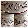Wedding cake champêtre nîmes
