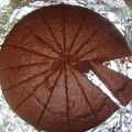 Gâteau au chocolat et à la crème de marron