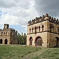 abyss land ,castel of fasiledes ,Gondar