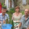 Spiridon que j'accompagnais avec Hervé et Bernadette
