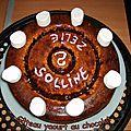 Gâteau yaourt choco