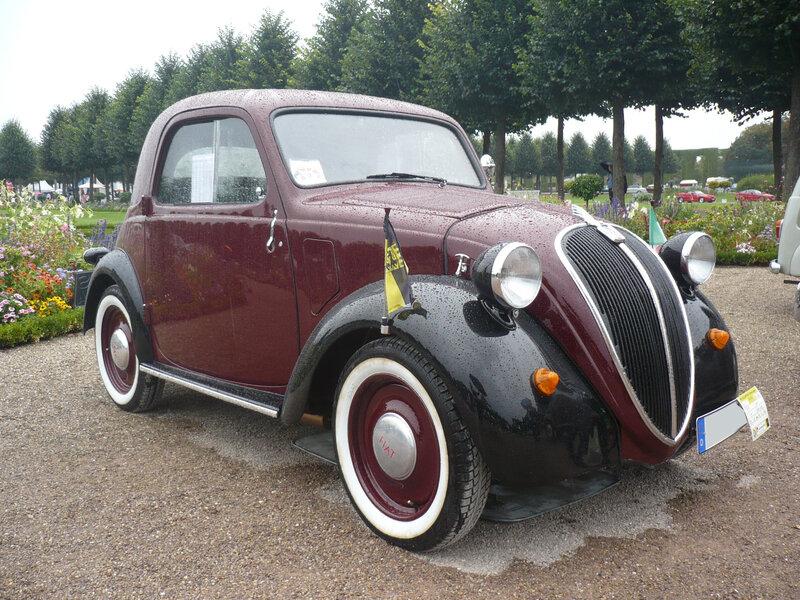 FIAT 500A Topolino berline 1936 Schwetzingen (1)
