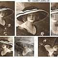 Copie de jeune femme au chapeau