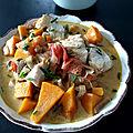 Curry de <b>cabillaud</b>