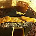 Biscuit cuillère bonus mousse au chocolat/framboise