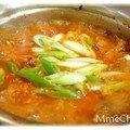 김치찌개—ragoût de kimchi simplissime