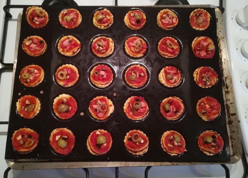 mini pizza crue