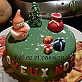 Gâteau 3d noël