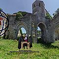 1217 Eglise Saint-Etienne de Marans - Charte Canal des Cinq Abbés - Saint-Michel, l'Absie, Saint Maixent, Maillezais, Nieul.