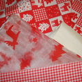 Noël en rouge et blanc