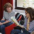 Café littéraire de la cité : rencontre avec colombe schneck et katrina kalda