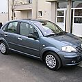 ...CITROEN C3 EXCLUSIVE GRIS FER VENDU 1300KMS