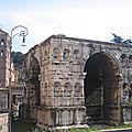 Ripa / Aventino - Jours tranquilles sur l'Aventin (11/13). Le Foro Boario, l'arc de Janus et San Giorgio in Velabro.