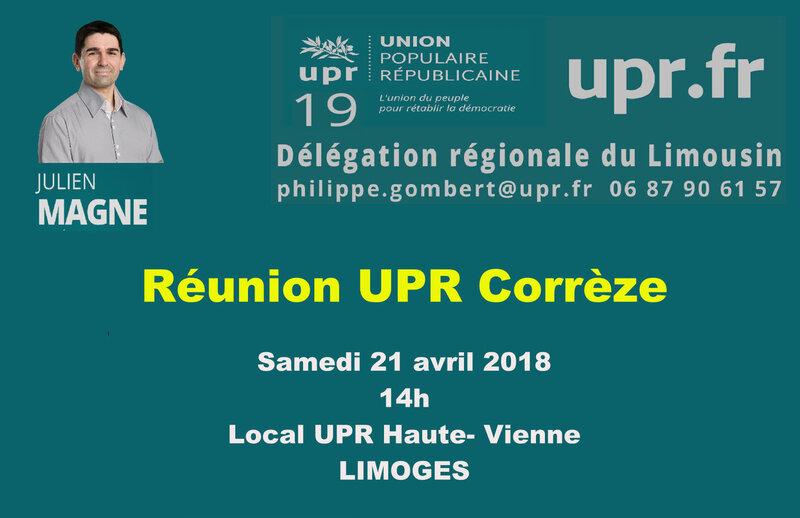 PROJET reunion UPR 19
