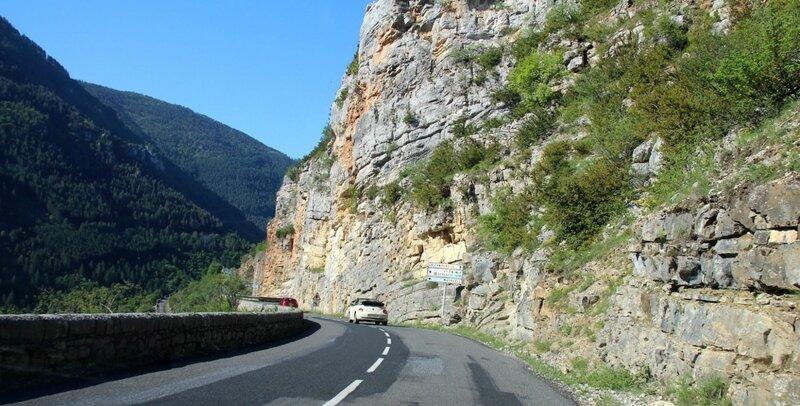 Route montagneuse de la Lozère