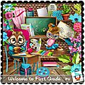 Kit welcome to first grade de kastagnette