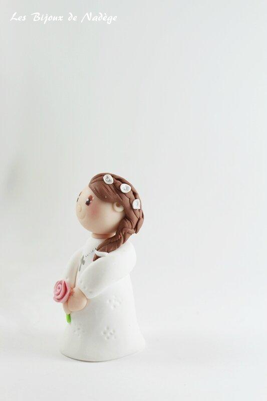 figurine gâteau communion