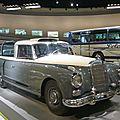 MERCEDES BENZ 300 W189 Messwagen 1960 Stuttgart (1)