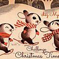Challenge christmas time chez mya rosa