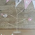 <b>Décoration</b> de baptême thème oiseau ou champêtre