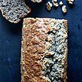 Cake aux noix & roquefort