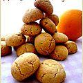biscuits noisette orange