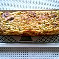 Terrine brousse et courgettes