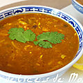 Harira marocain ( soupe )