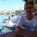 grèce lefkas en terrasse pour deguster les gourmandises