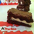 Brownies au kinder