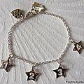 Bracelet Mes P'tites Stars