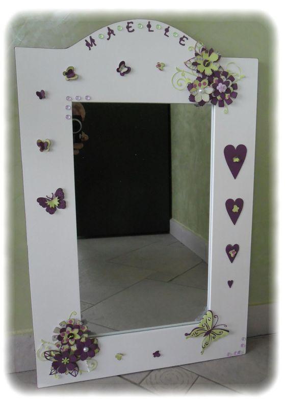Miroir pour petite fille - Les P\'tites Décos