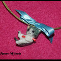 Collier chaton joueur