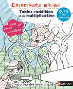 Tables d'addition et de multiplication couv